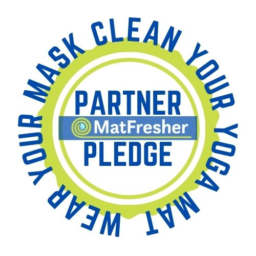 reopen responsibly with a mask and clean mat pledge